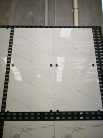 Glossy marble 600×600 porcelain floor tiles