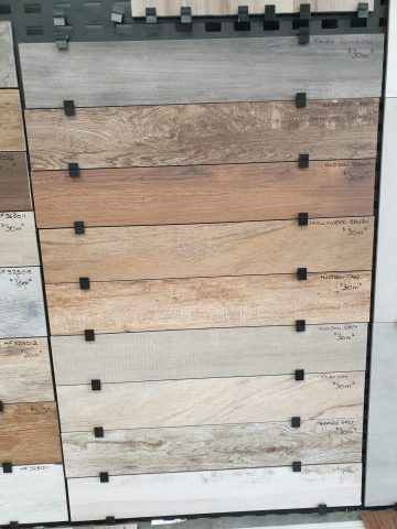 ET Series timber-look tiles 150mm x 900mm